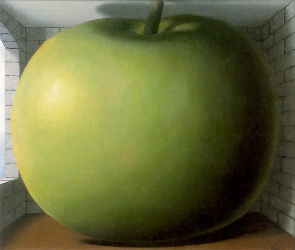 dali hoofd appel