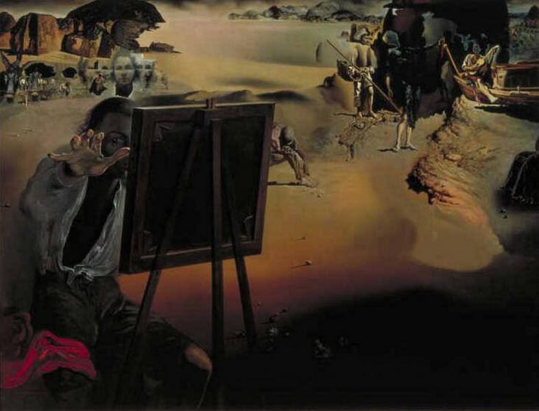 © Salvador Dalí, Fundación Gala-Salvador Dalí, Impressies uit Afrika, 1938, c/o Pictoright Amsterdam 2018