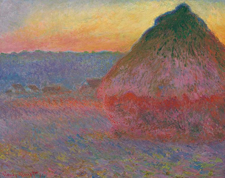 Claude Monet Korenmijt 1891