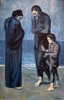 © Picasso, De armen op het strand, 1903, c/o Pictoright Amsterdam 2018