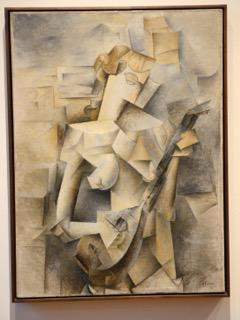 © Picasso, Meisje met mandoline, 1910, c/o Pictoright Amsterdam 2018